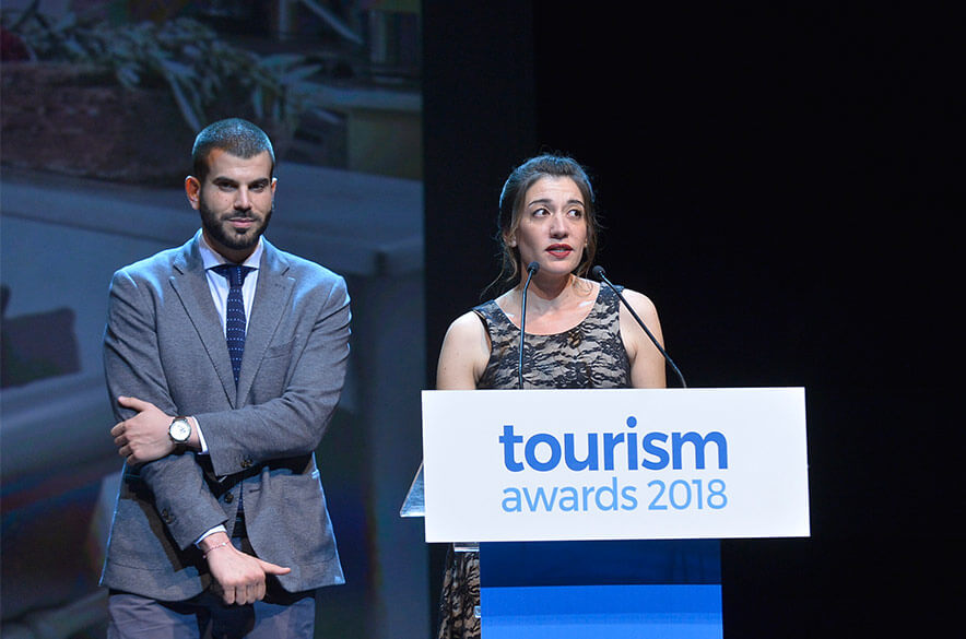 Tinos Crossroads Inn Gold in Tourism Awards 2018