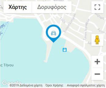 NISSOS-TINOS MAP