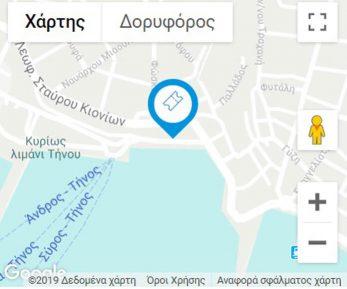 TINOS-TOURS MAP