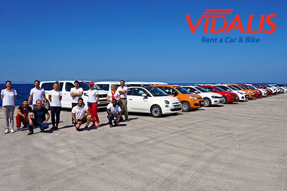 VIDALIS RENT A CAR TINOS