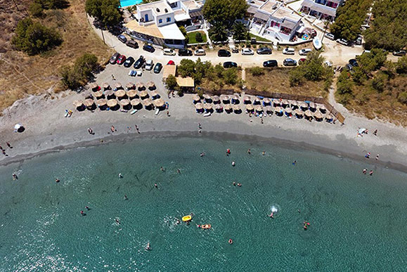 Fyki Beach Bar Tinos