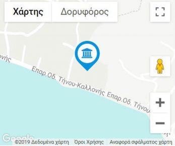 IERO POSEIDONA MAP