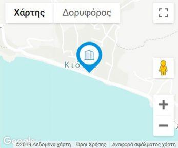 Kionia-rooms MAP