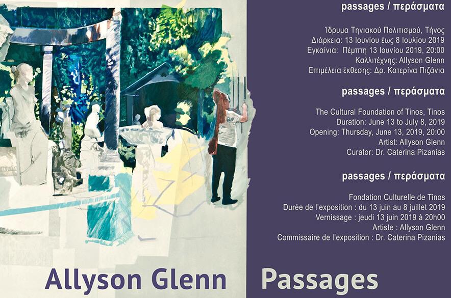Alyson Glenn Passages Perasmata Tinos